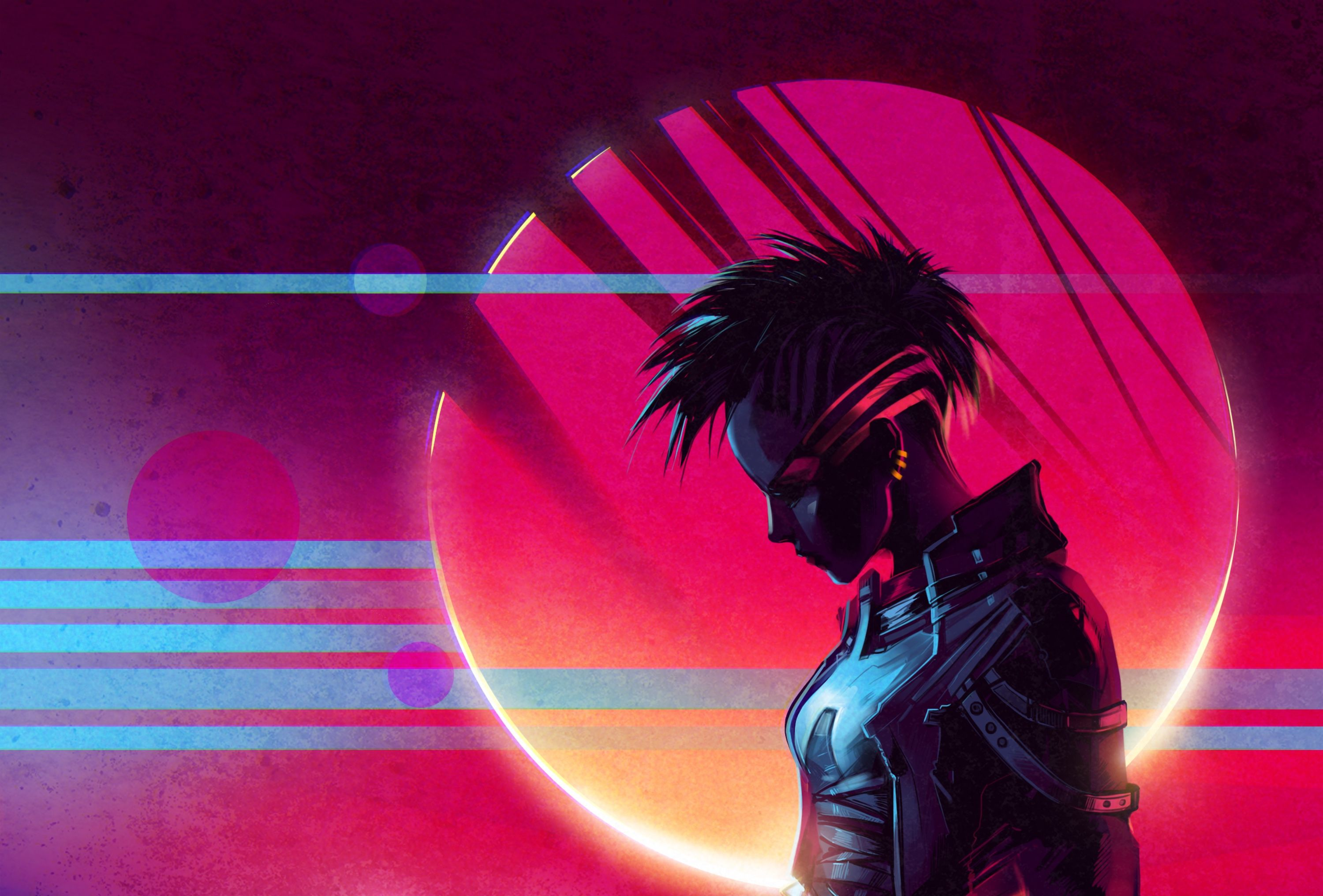 109 Retro Wave HD Wallpapers | Background Images - Wallpaper Abyss