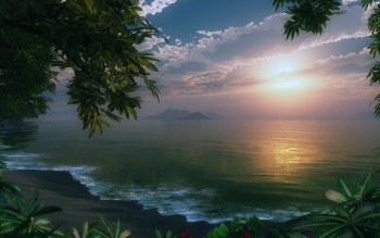 CGI - Landschap Wallpapers and Backgrounds