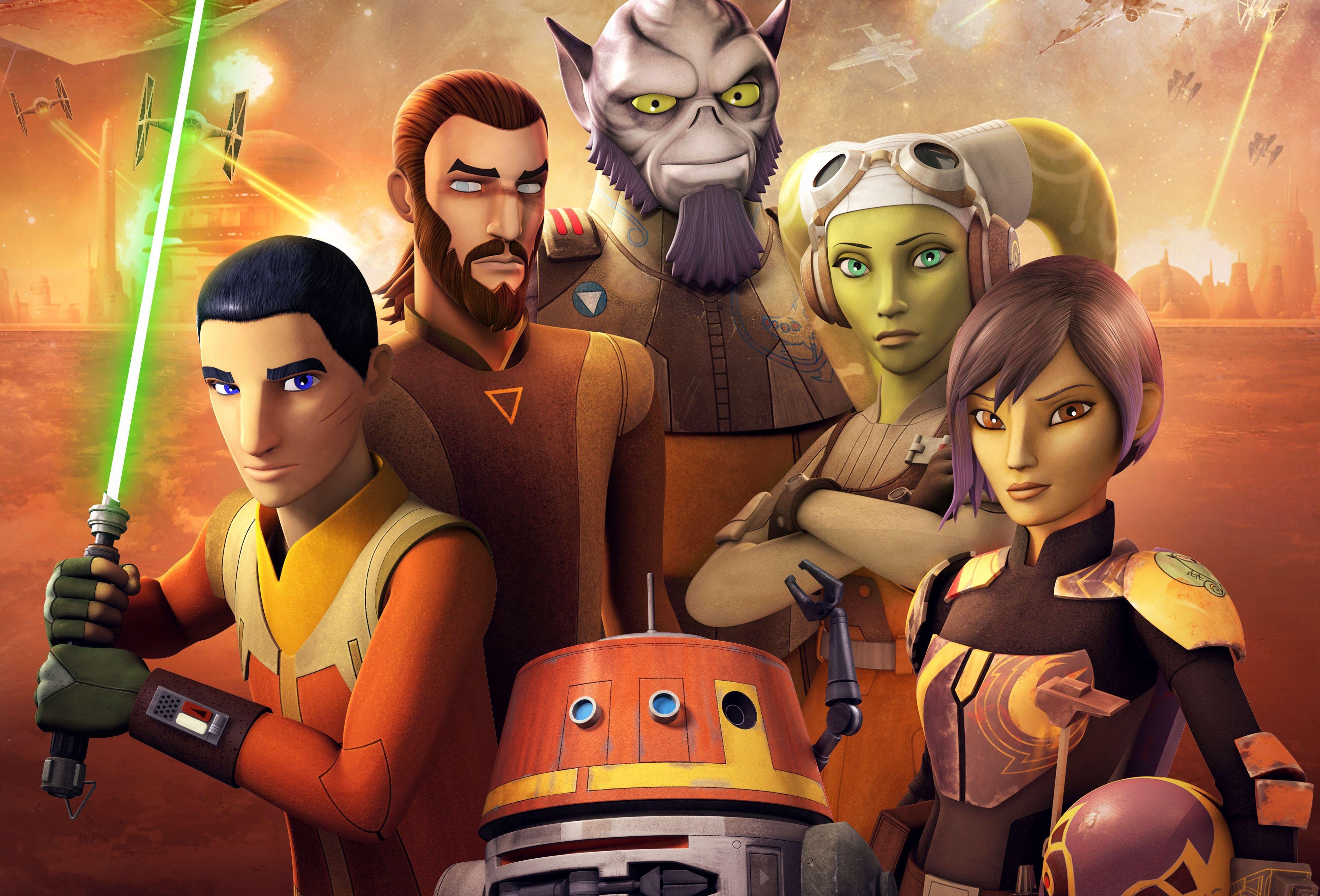 Star Wars Rebels 4k Ultra Hd Wallpaper Background Image