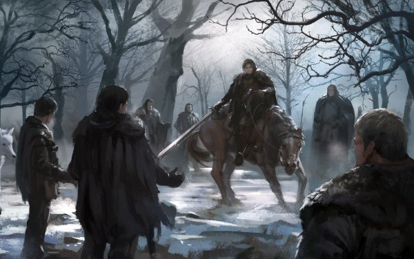 Fantasy A Song Of Ice And Fire Jon Snow Samwell Tarly Grenn HD Wallpaper | Background Image