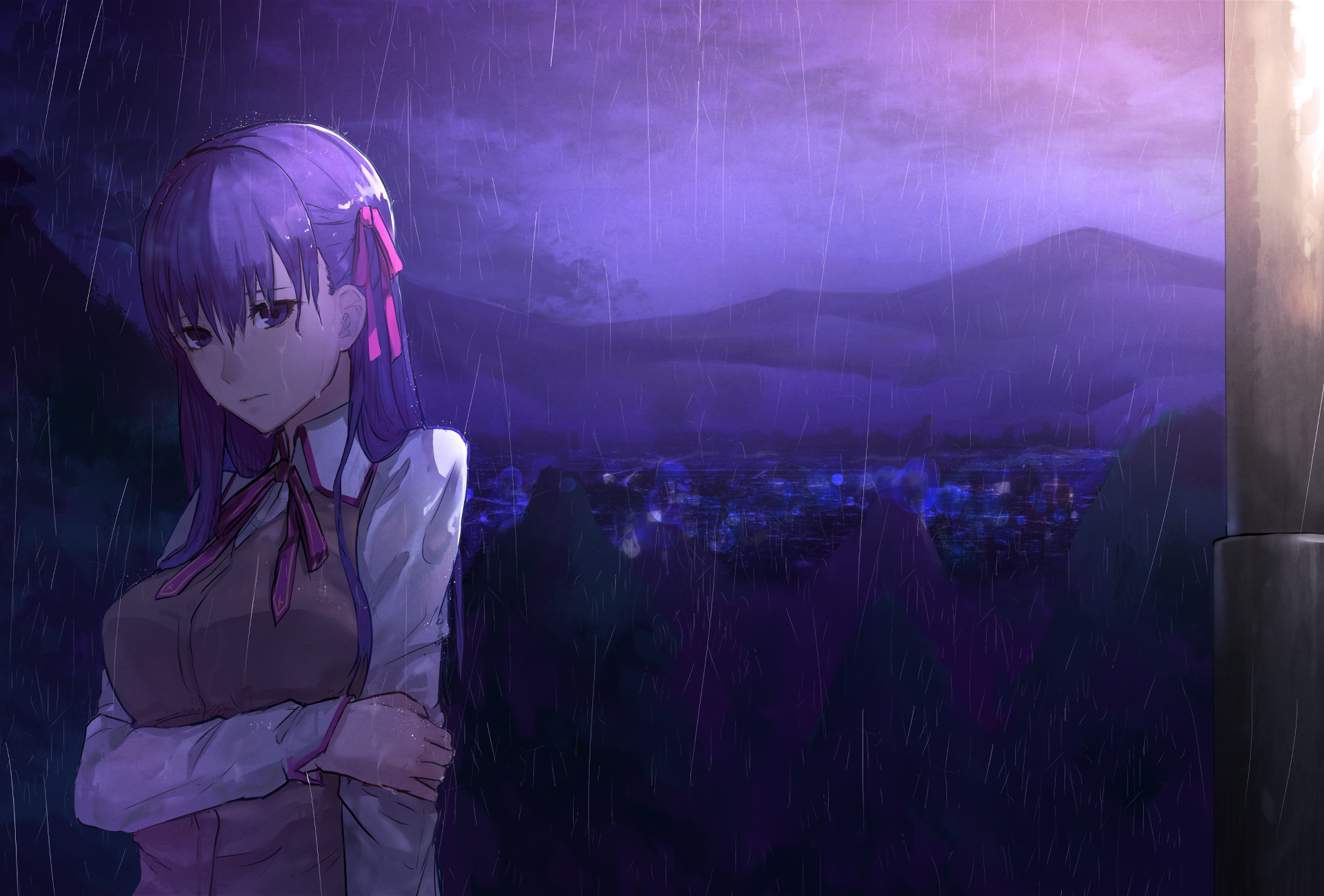 Fate Stay Night Movie Heaven S Feel Hd Wallpaper Background