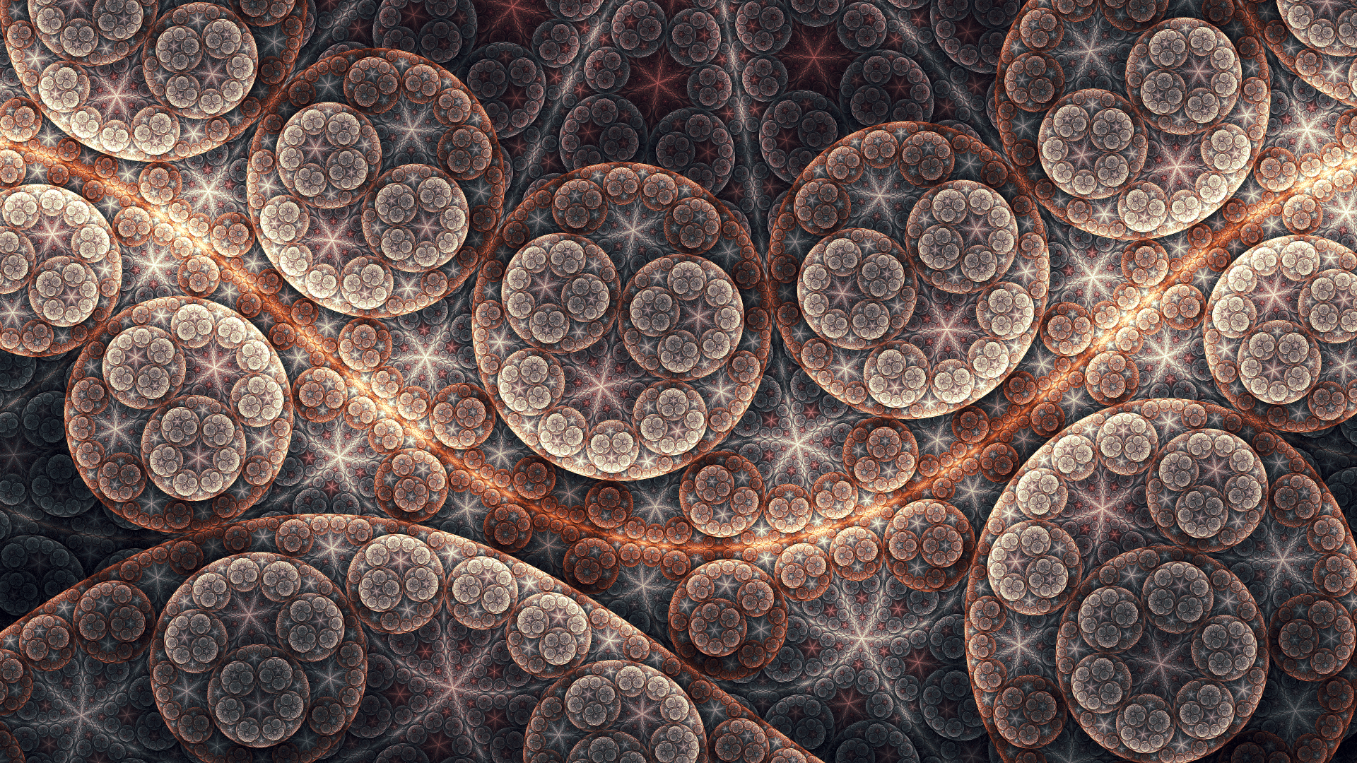 Abstract - Fractal  Artistic Pattern Wallpaper