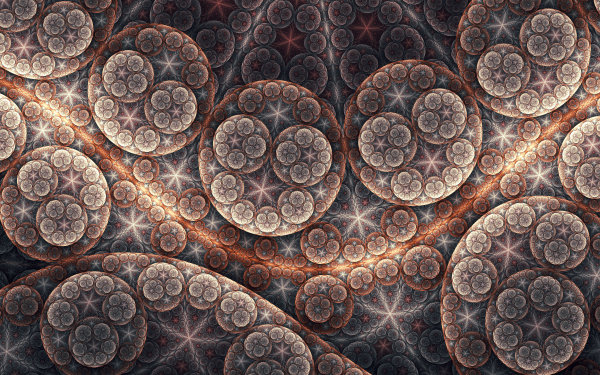 Abstract Fractal Artistic Pattern HD Wallpaper | Background Image