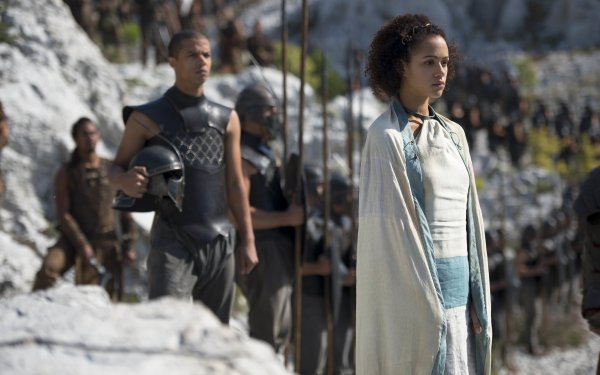 TV Show Game Of Thrones Missandei Nathalie Emmanuel Grey Worm Jacob Anderson HD Wallpaper | Background Image