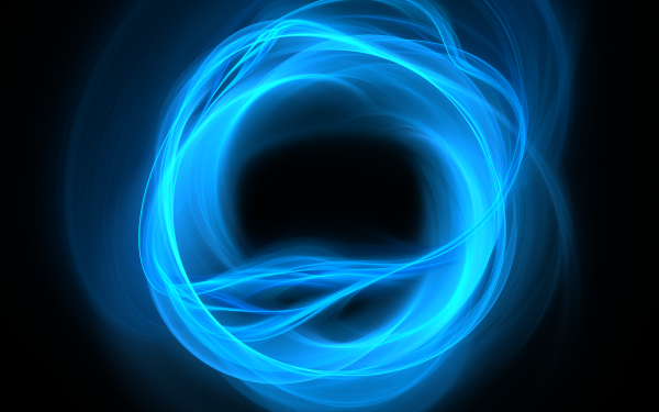 Abstract Blue Apophysis Circle HD Wallpaper | Background Image