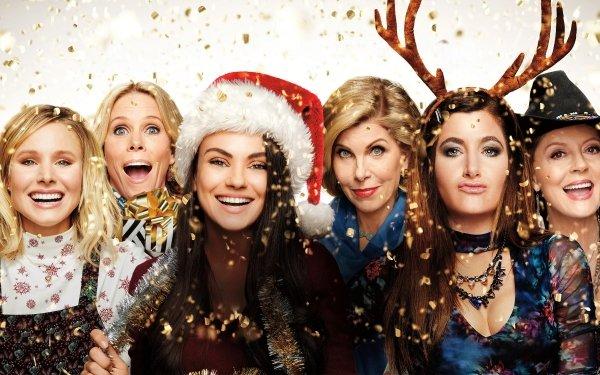 Movie A Bad Moms Christmas Kristen Bell Christine Baranski Cheryl Hines Kathryn Hahn Susan Sarandon Mila Kunis HD Wallpaper | Background Image