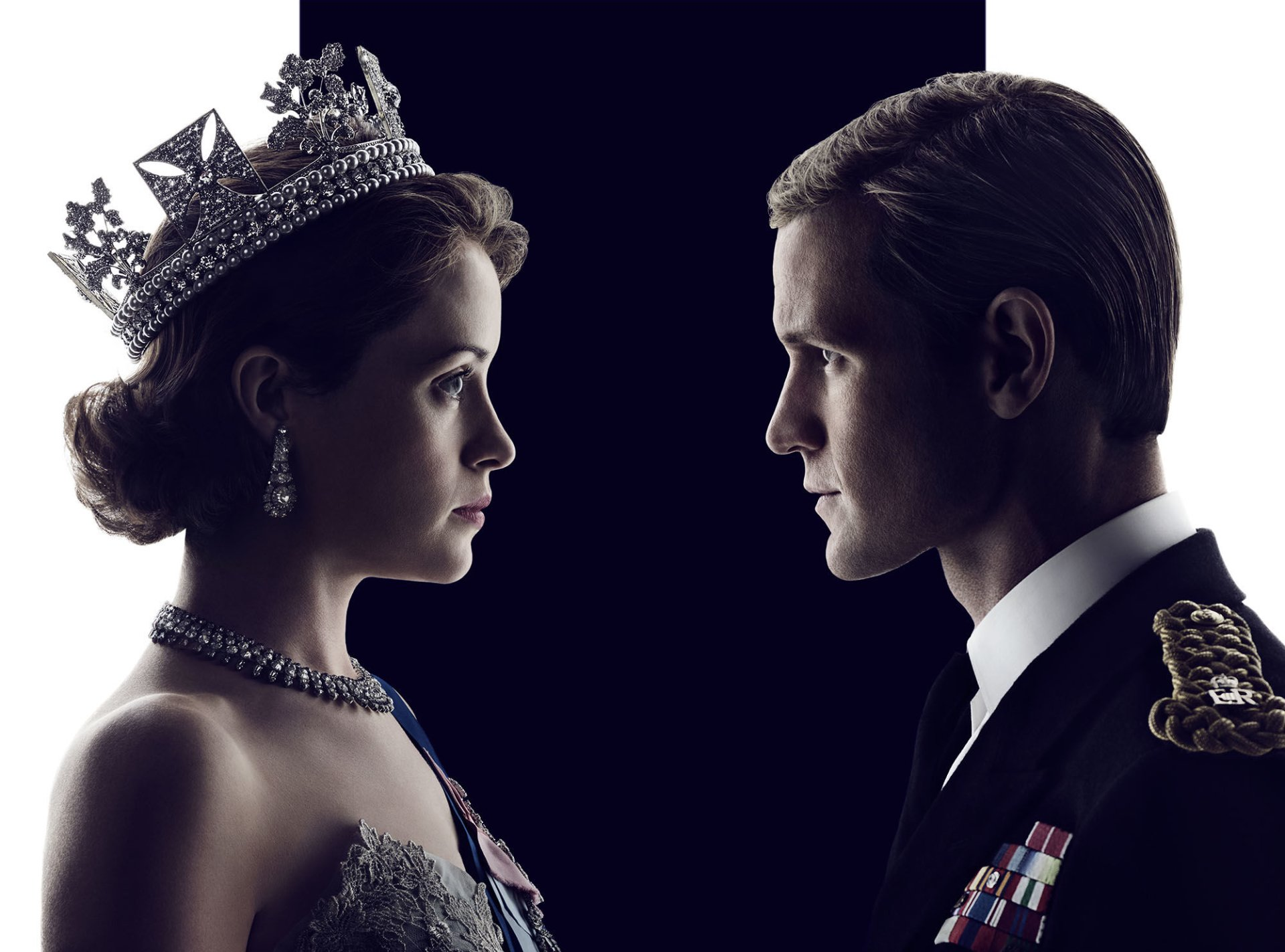 TV Show - The Crown  Queen Elizabeth II Claire Foy Prince Philip Matt Smith Wallpaper