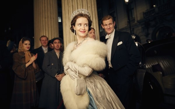 TV Show The Crown Queen Elizabeth II Claire Foy Prince Philip Matt Smith HD Wallpaper   Background Image