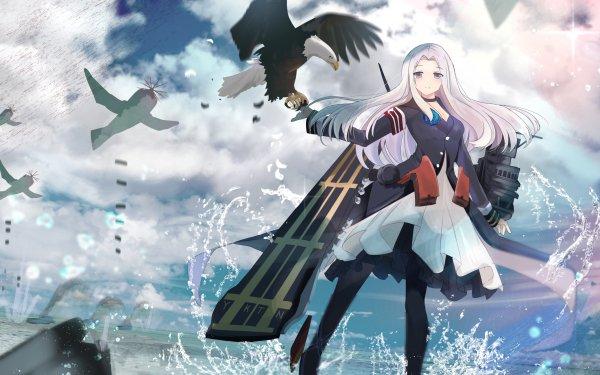 Anime Azur Lane Yorktown HD Wallpaper | Background Image