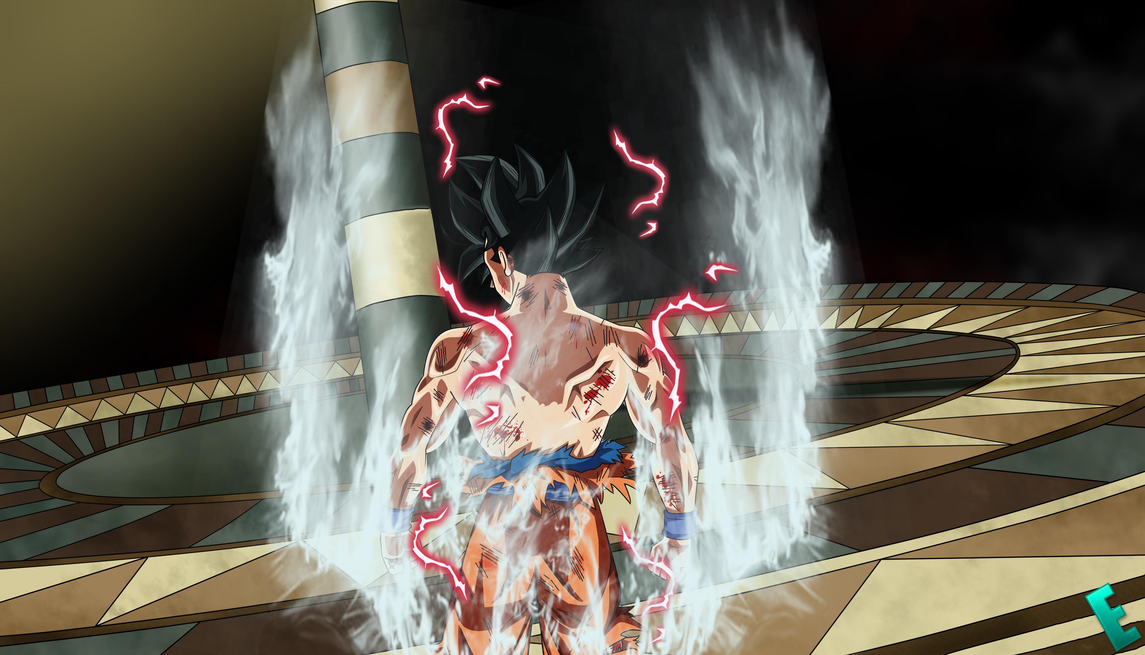 Los Mejores Fondos De Pantalla De Goku Migatte No Gokui Hd: Goku Migate No Gokui 4k Ultra Fondo De Pantalla HD