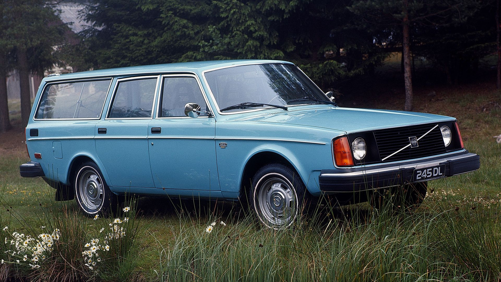 1975 Volvo 245 Dl Us Fond Décran Hd Arrière Plan 1920x1080