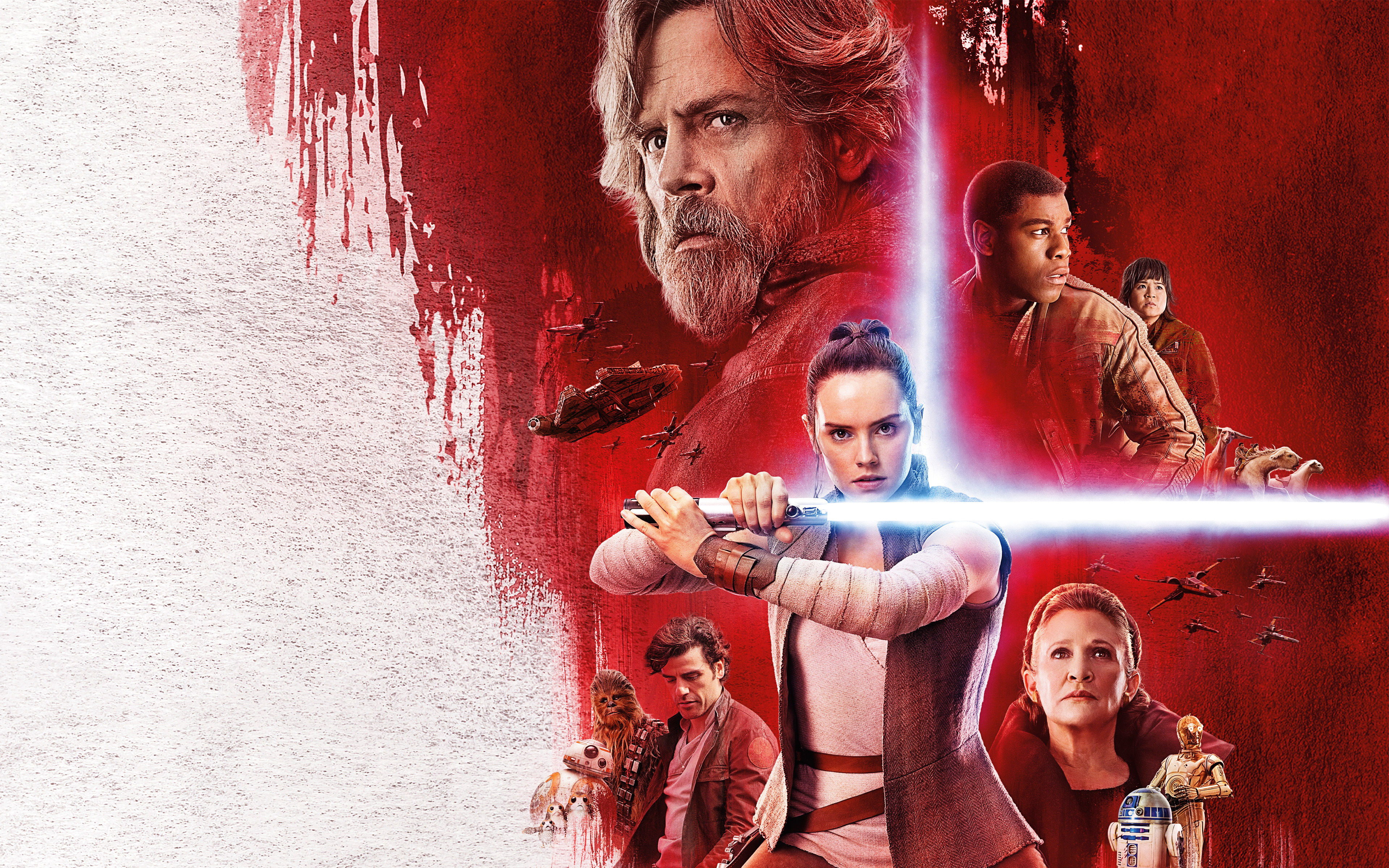 Star Wars The Last Jedi 4k Ultra Hd Wallpaper Background Image