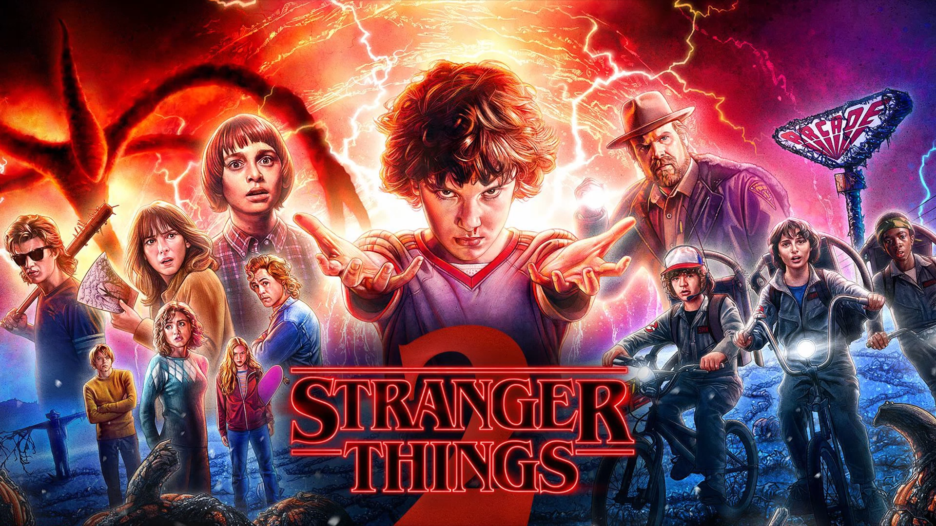 98 Stranger Things Hd Wallpapers Background Images Wallpaper Abyss