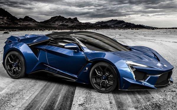 Vehicles Fenyr SuperSport Sport Car Coupé Blue Car HD Wallpaper | Background Image
