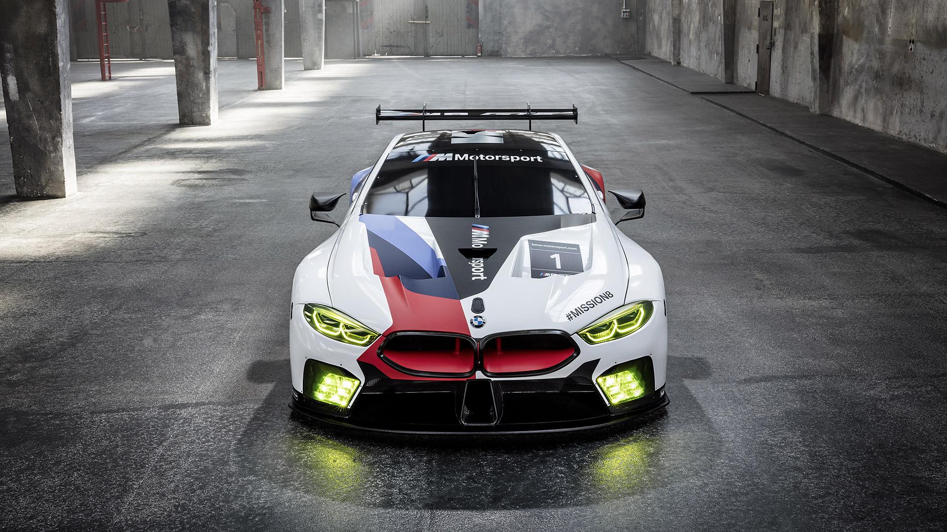 2018 BMW M8 GTE HD Wallpaper | Background Image ...