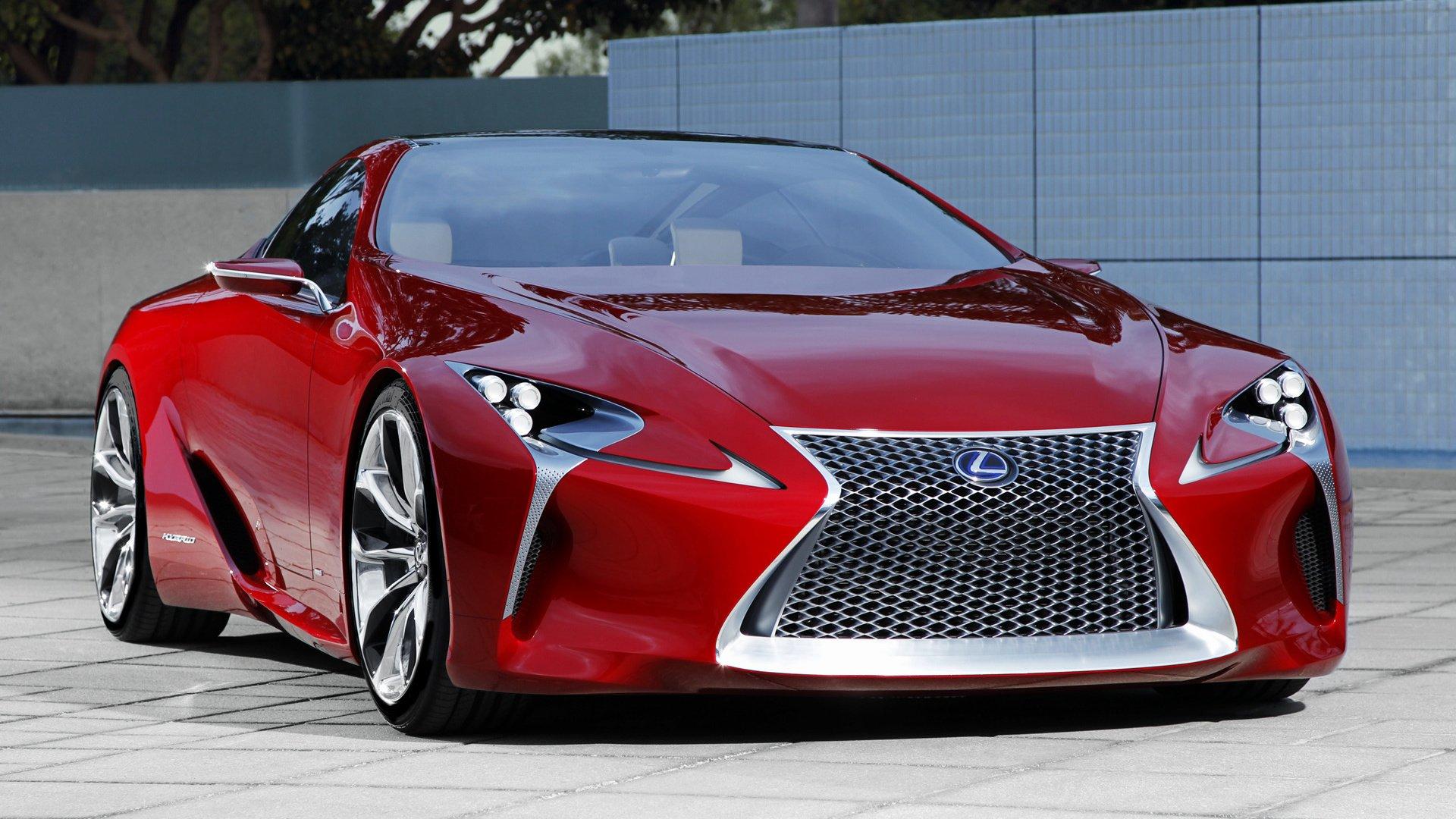 2012 Lexus LF-LC Concept Full HD Bakgrund and Bakgrund | 1920x1080 ...