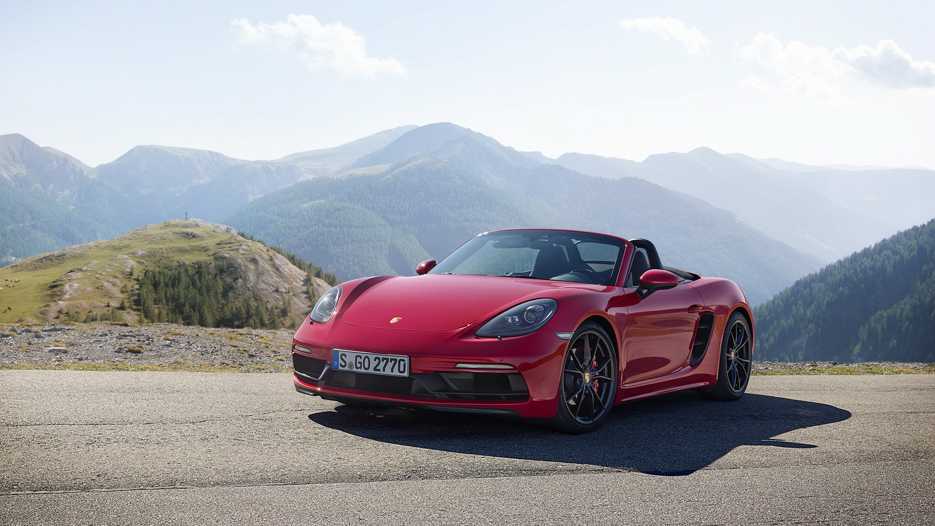 13 Porsche 718 Boxster Gts Hd Wallpapers Background Images Wallpaper Abyss