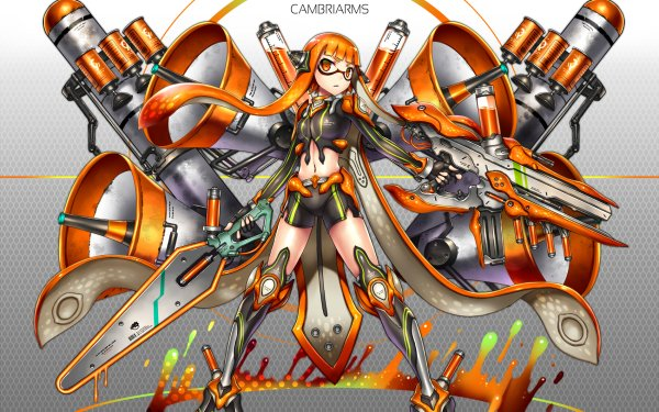 Video Game Splatoon Inkling Mecha HD Wallpaper | Background Image