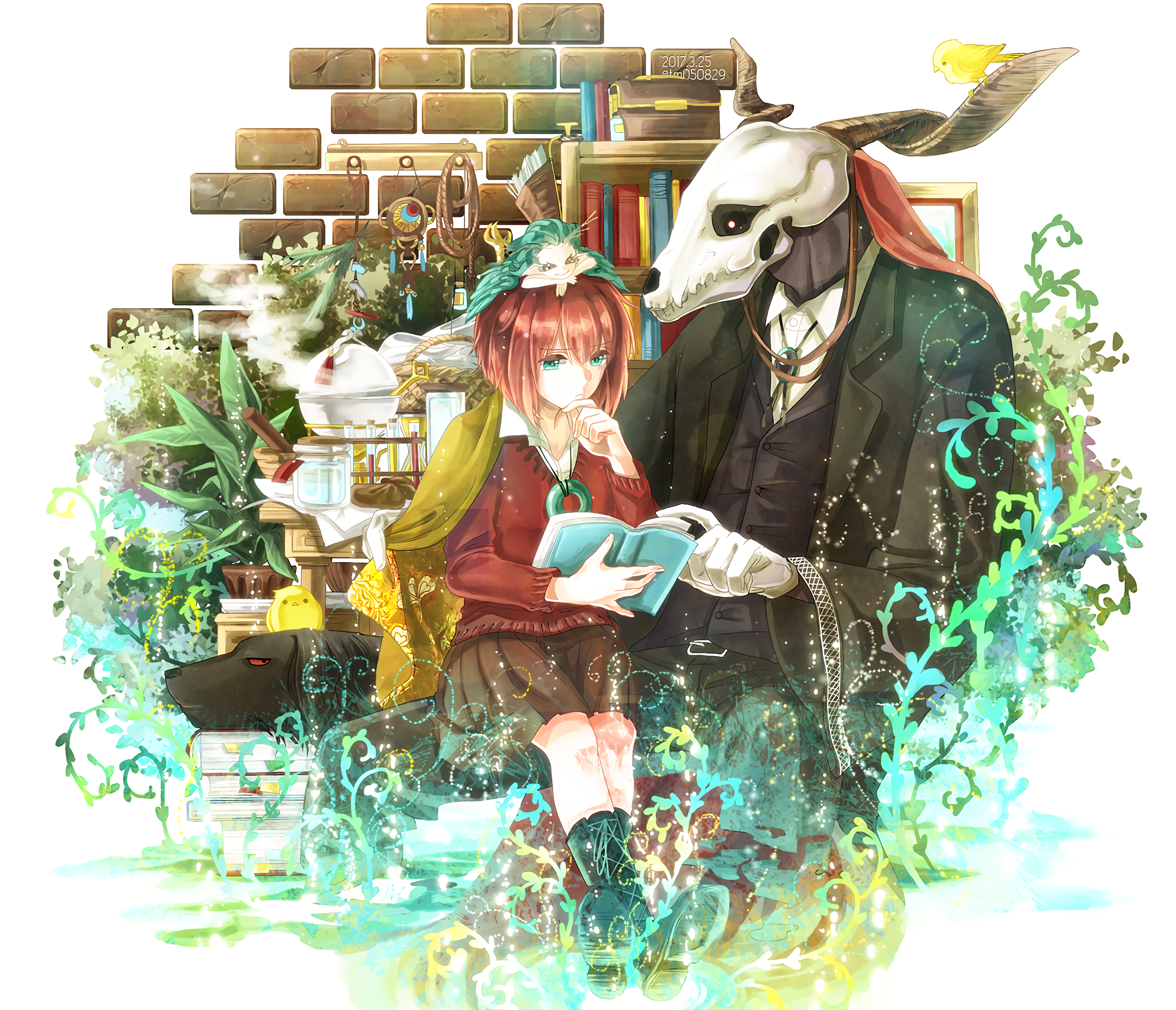50 The Ancient Magus Bride Hd Wallpapers Background Images