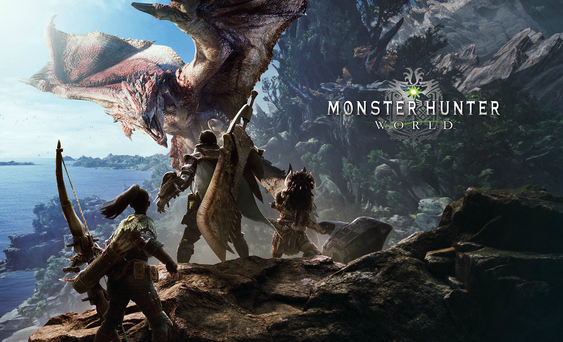 MONSTER HUNTER: WORLD bg