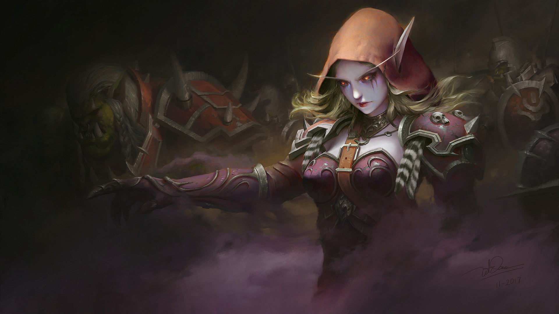 Sylvanas wallpaper and background image 1920x1078 id 882997 wallpaper abyss - Sylvanas windrunner wallpaper ...