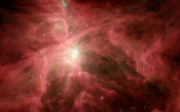 Sci Fi Nebula Space Orion Pink Stars HD Wallpaper | Background Image