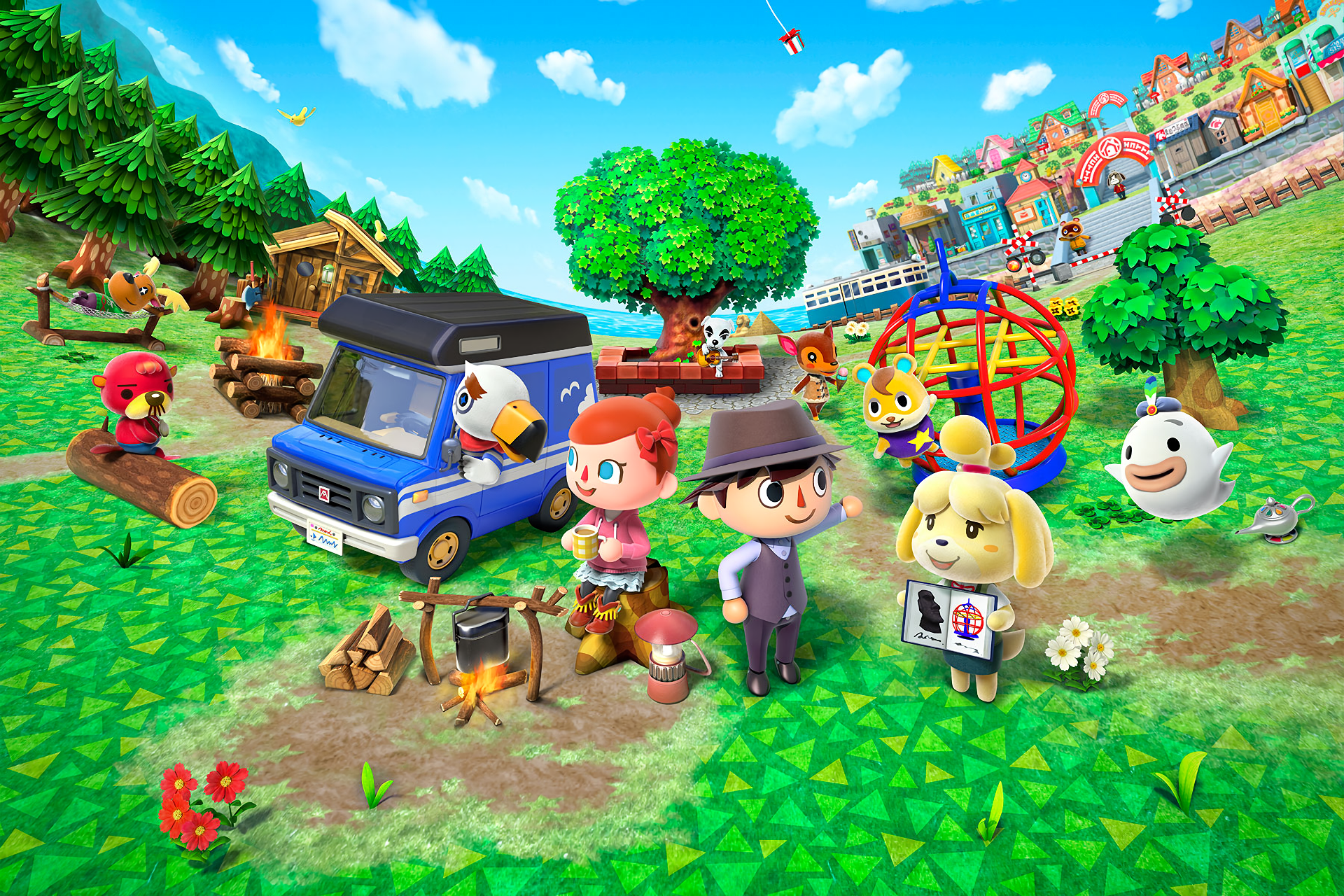 6 Animal Crossing Pocket Camp Hd Wallpapers Background Images