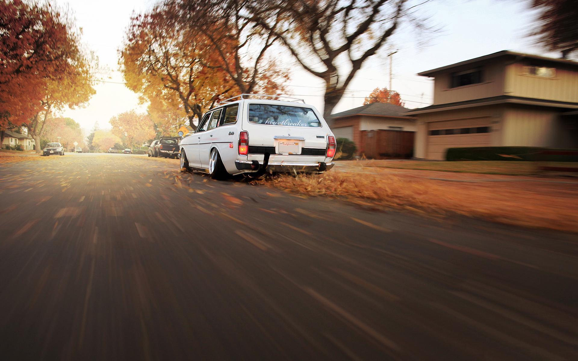 Fahrzeuge - Datsun 610 Wagon  Wallpaper