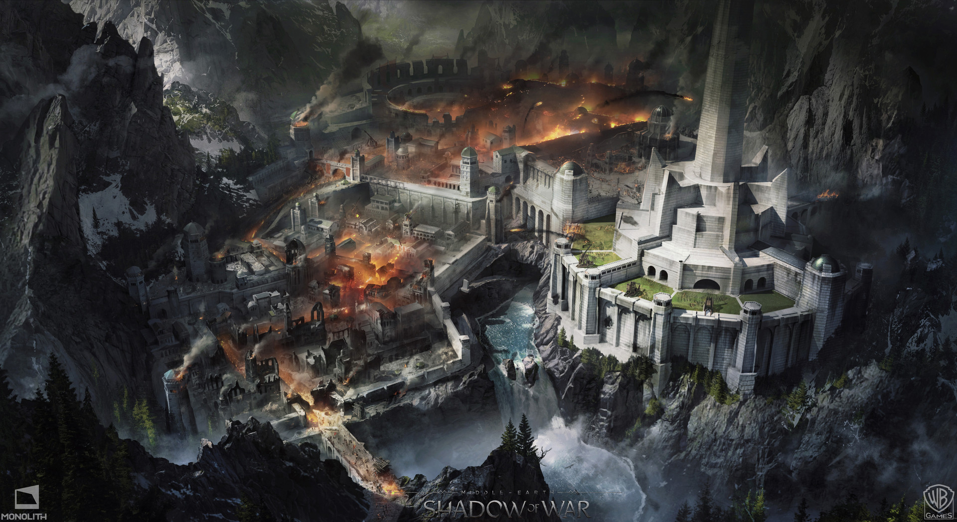 Middle Earth Shadow Of War Wallpaper: Middle-earth: Shadow Of War Wallpaper And Background Image