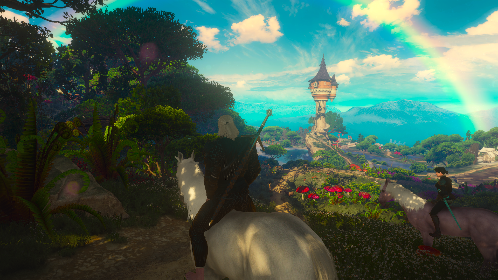 The Witcher Unicorn Hd Wallpaper Background Image 1920x1080