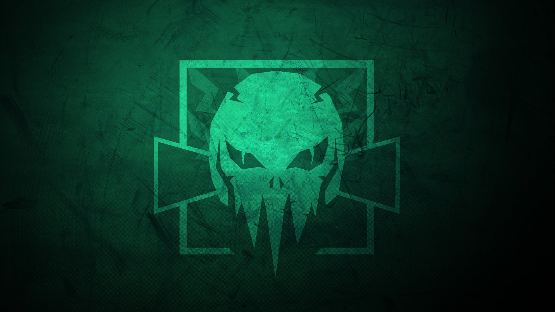 Video Game - Tom Clancy's Rainbow Six: Siege  Fan Art Minimalist Skull Green Operation High Death Wallpaper