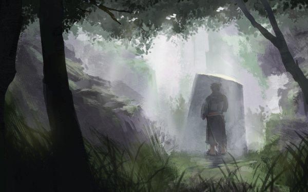 Fantasy Samurai Warrior HD Wallpaper   Background Image