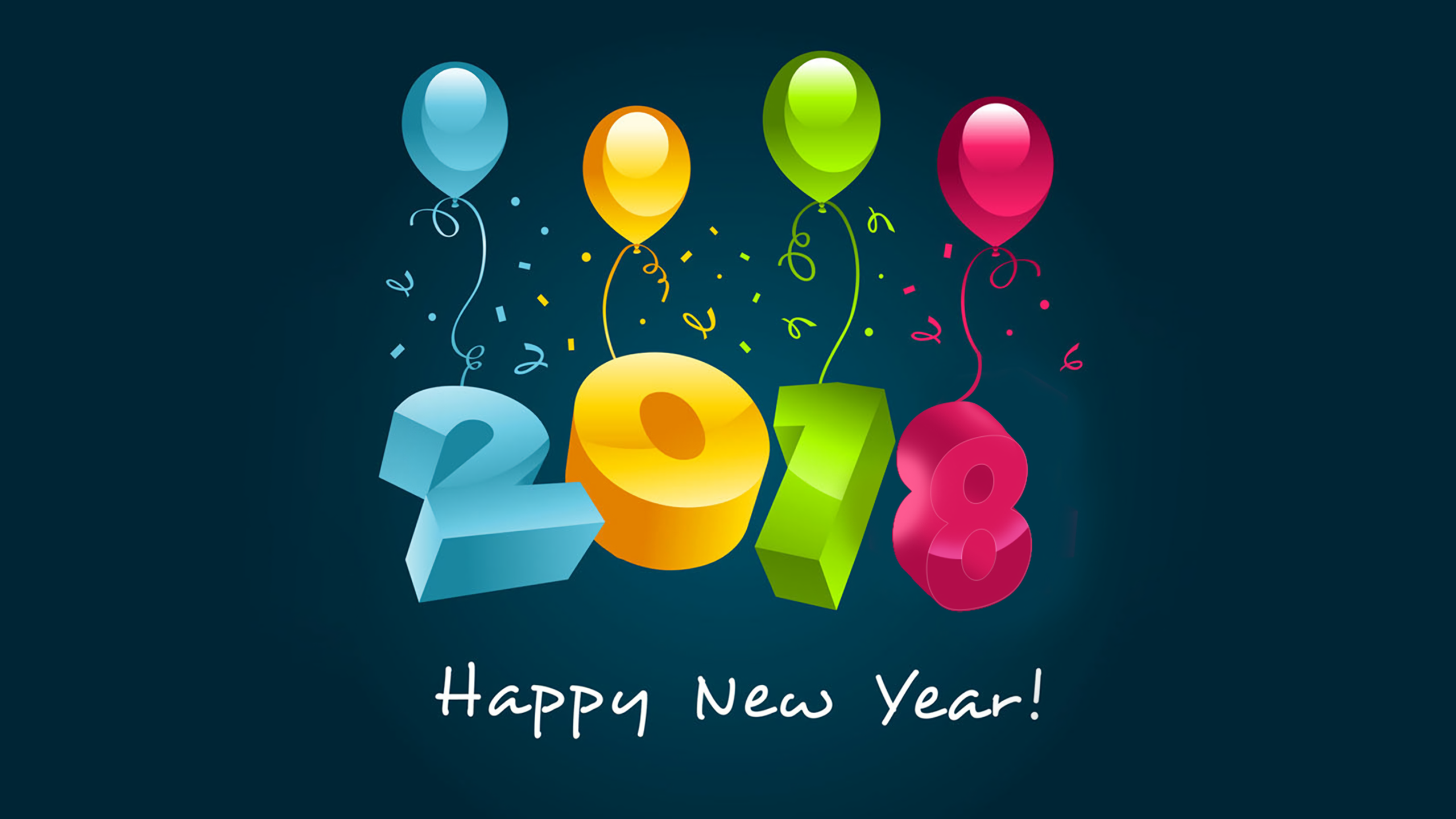 new year 2018 wallpapers id887341