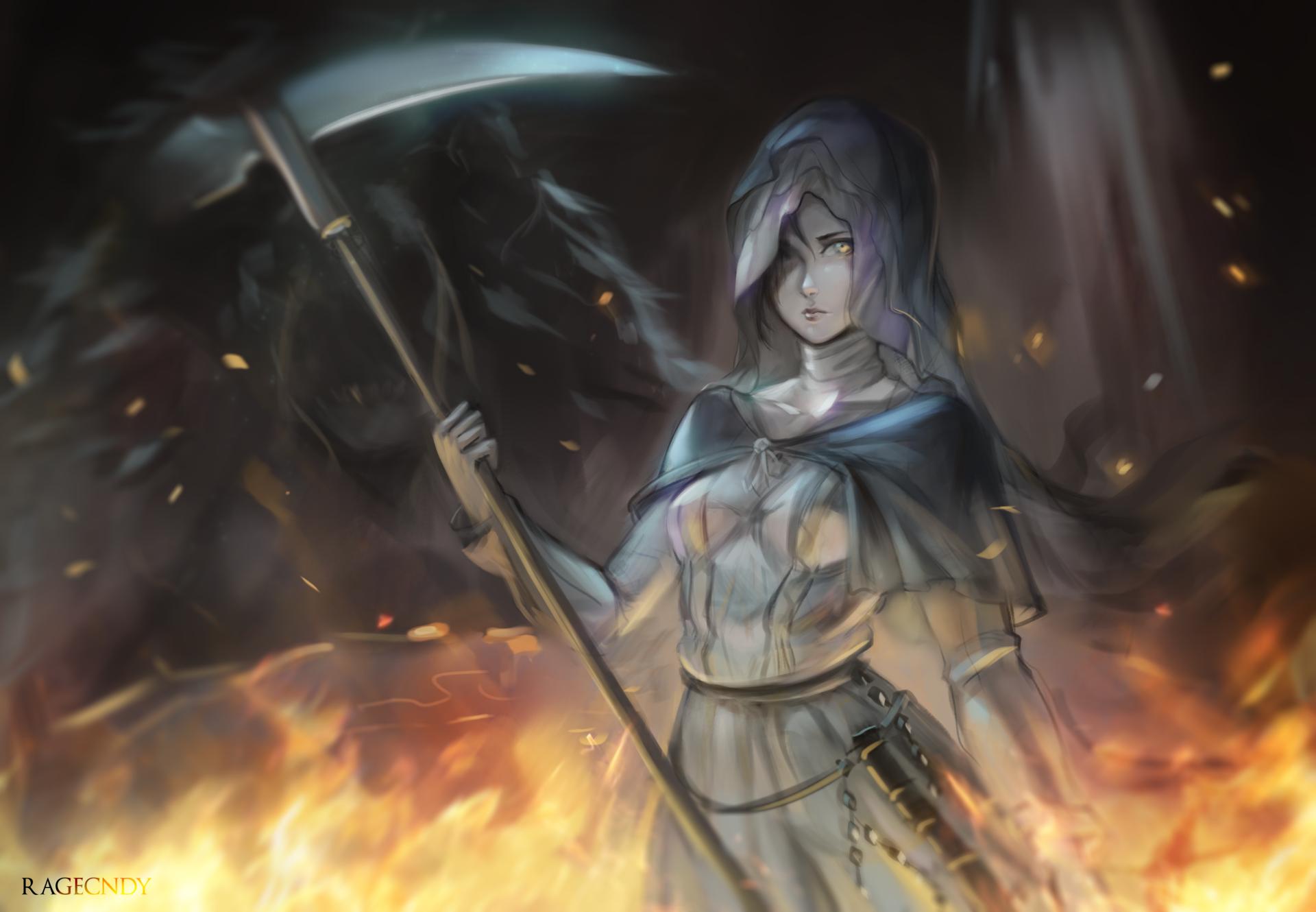 1 Sister Friede Dark Souls Hd Wallpapers Background Images