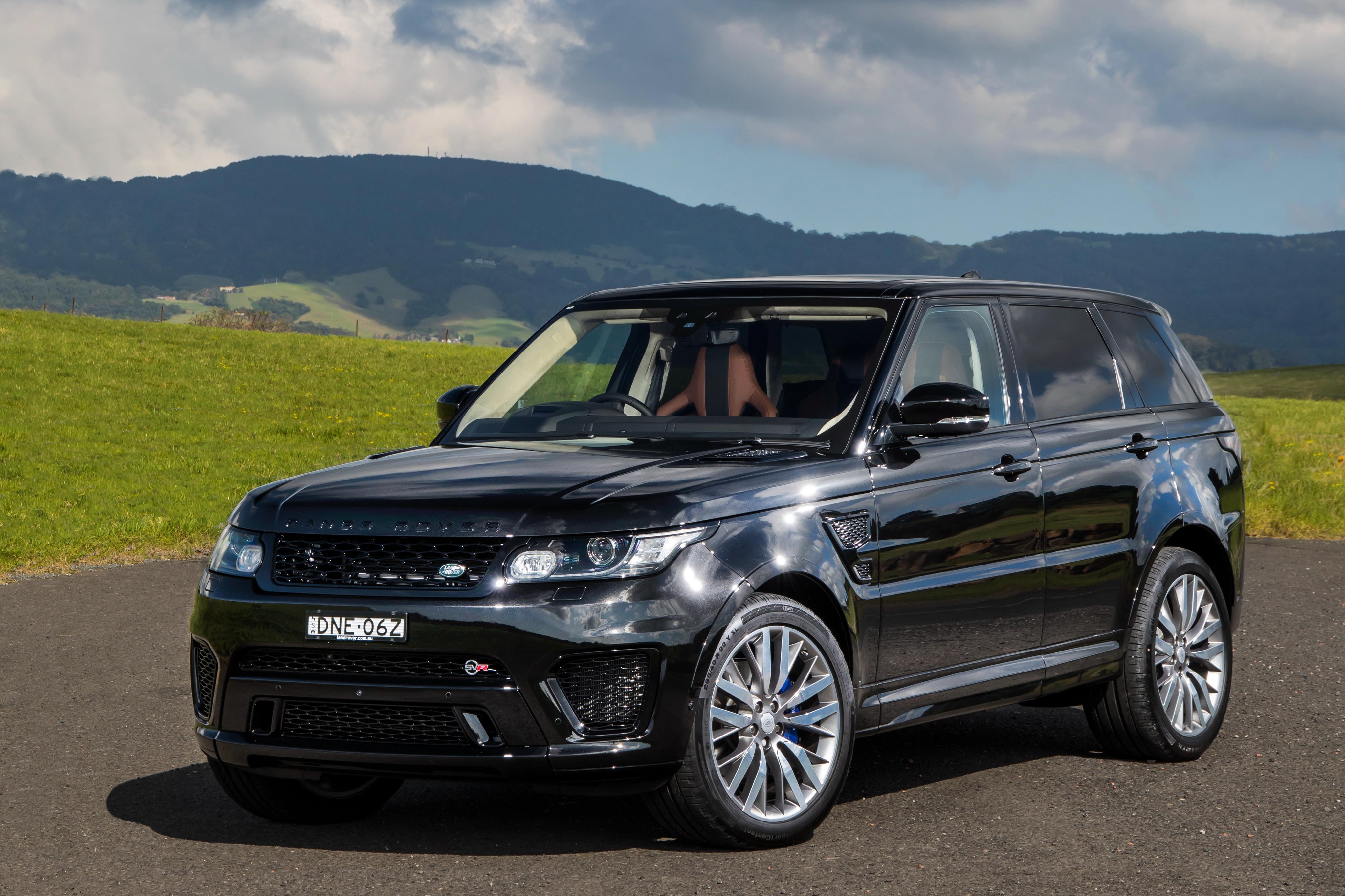 Range Rover Sport Black Wallpaper: Range Rover Sport 4k Ultra HD Wallpaper