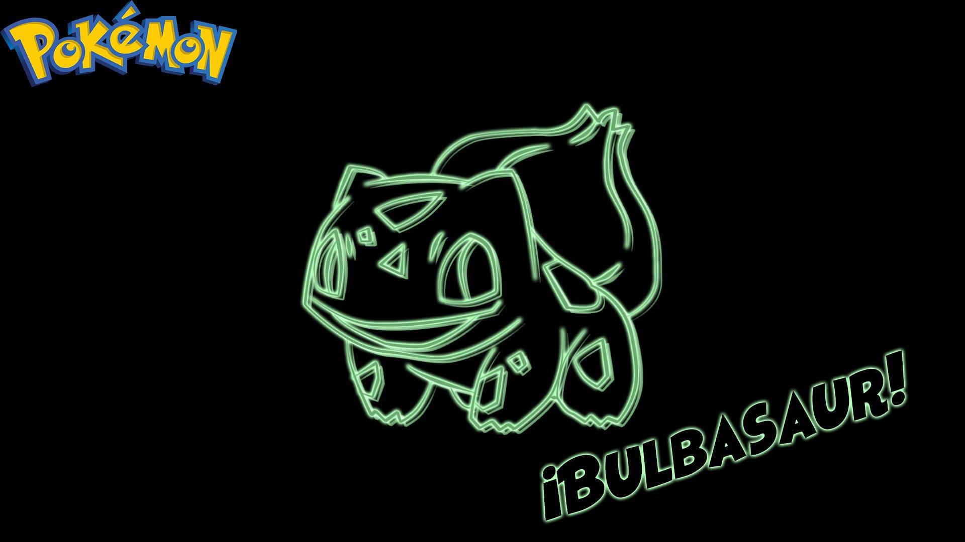Video Game - Pokémon  Bulbasaur (Pokémon) Neon Wallpaper