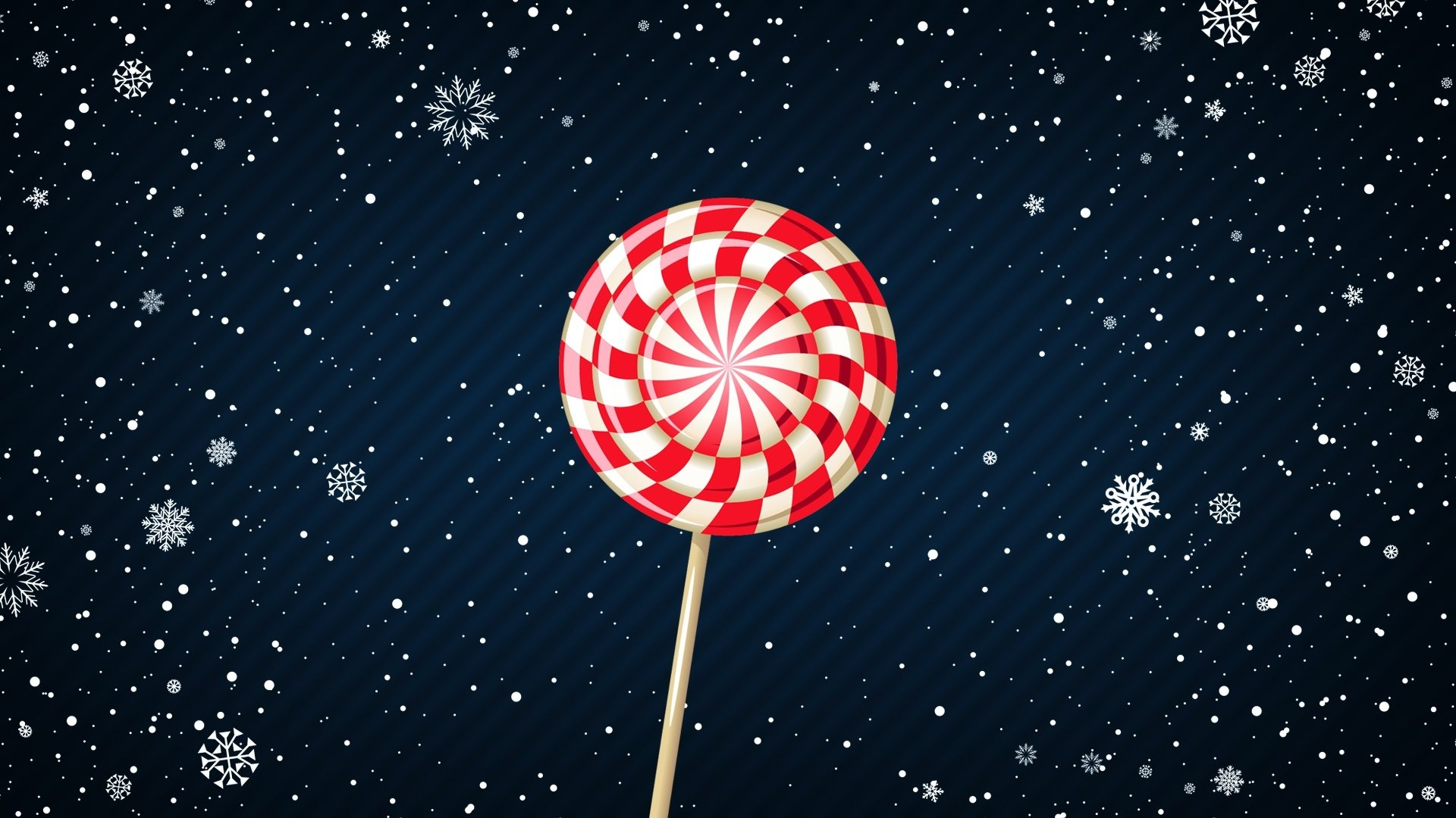 Food - Candy  Snow Lollipop Sweets Wallpaper