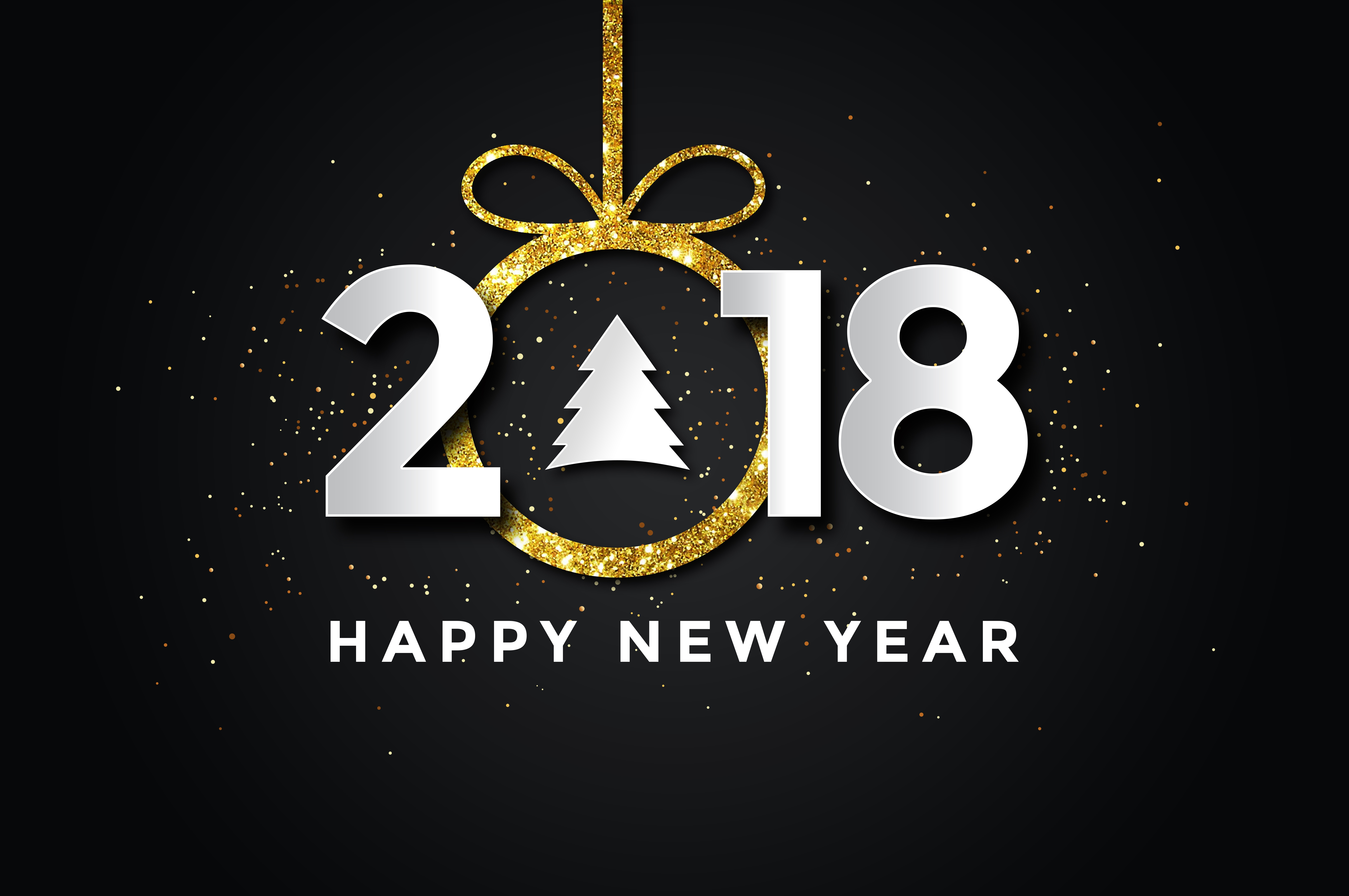 holydays new year new year 2018 hd wallpaper background image id891036