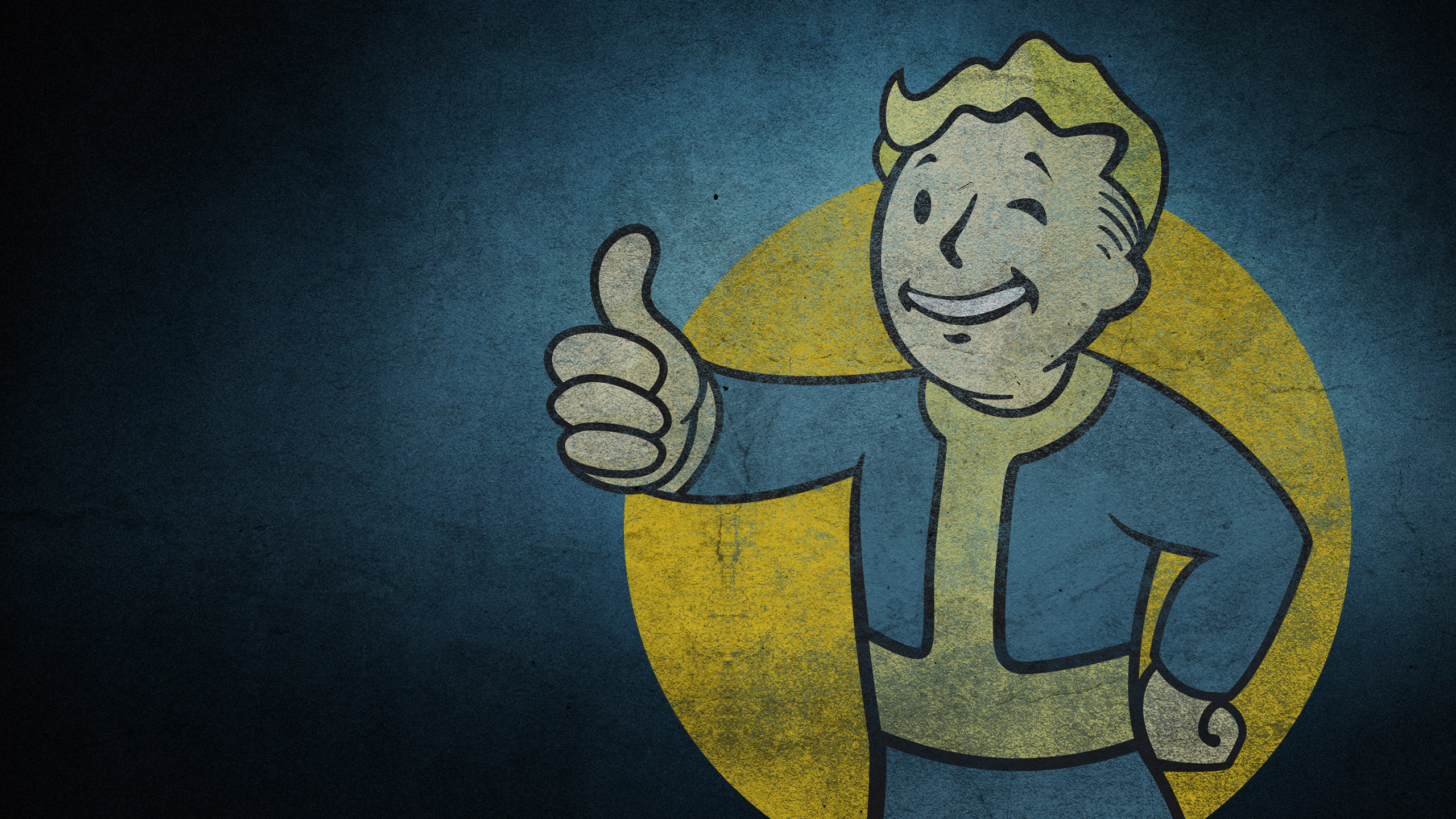 fallout vault boy full hd wallpaper and background
