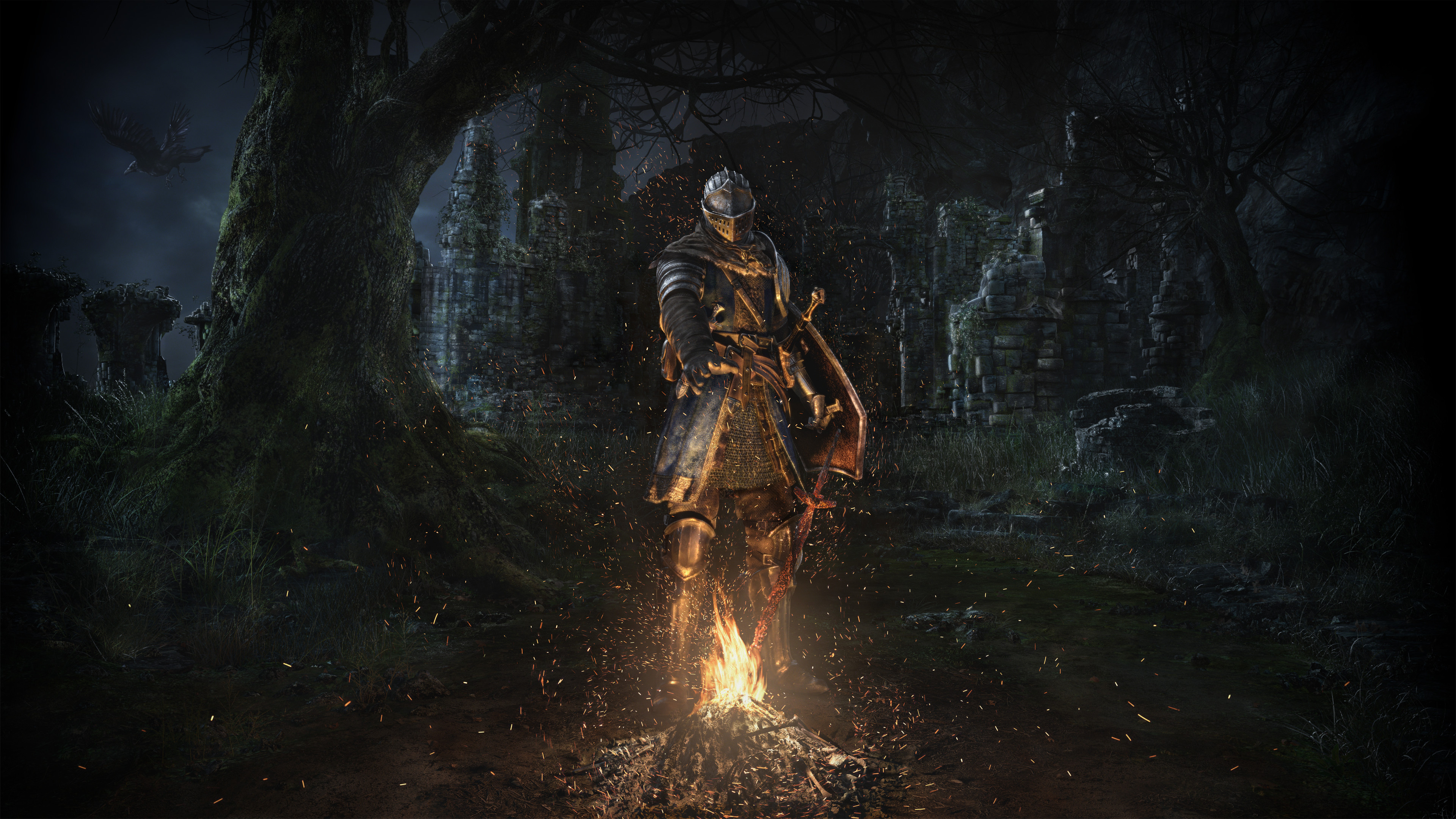 DARK SOULS REMASTERED key visual