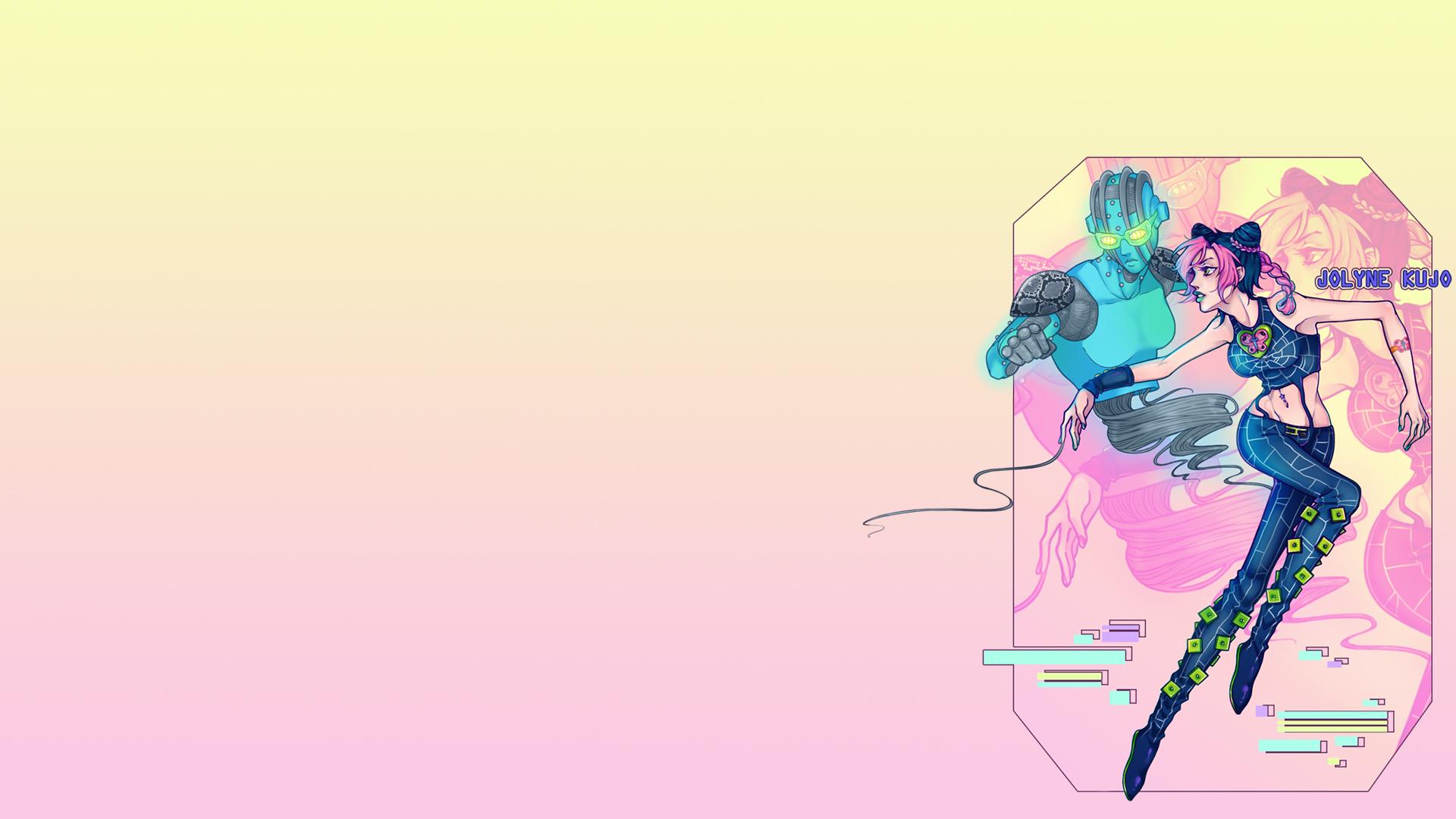 Jolyne Cujoh / Stone Ocean HD Wallpaper | Background Image ...