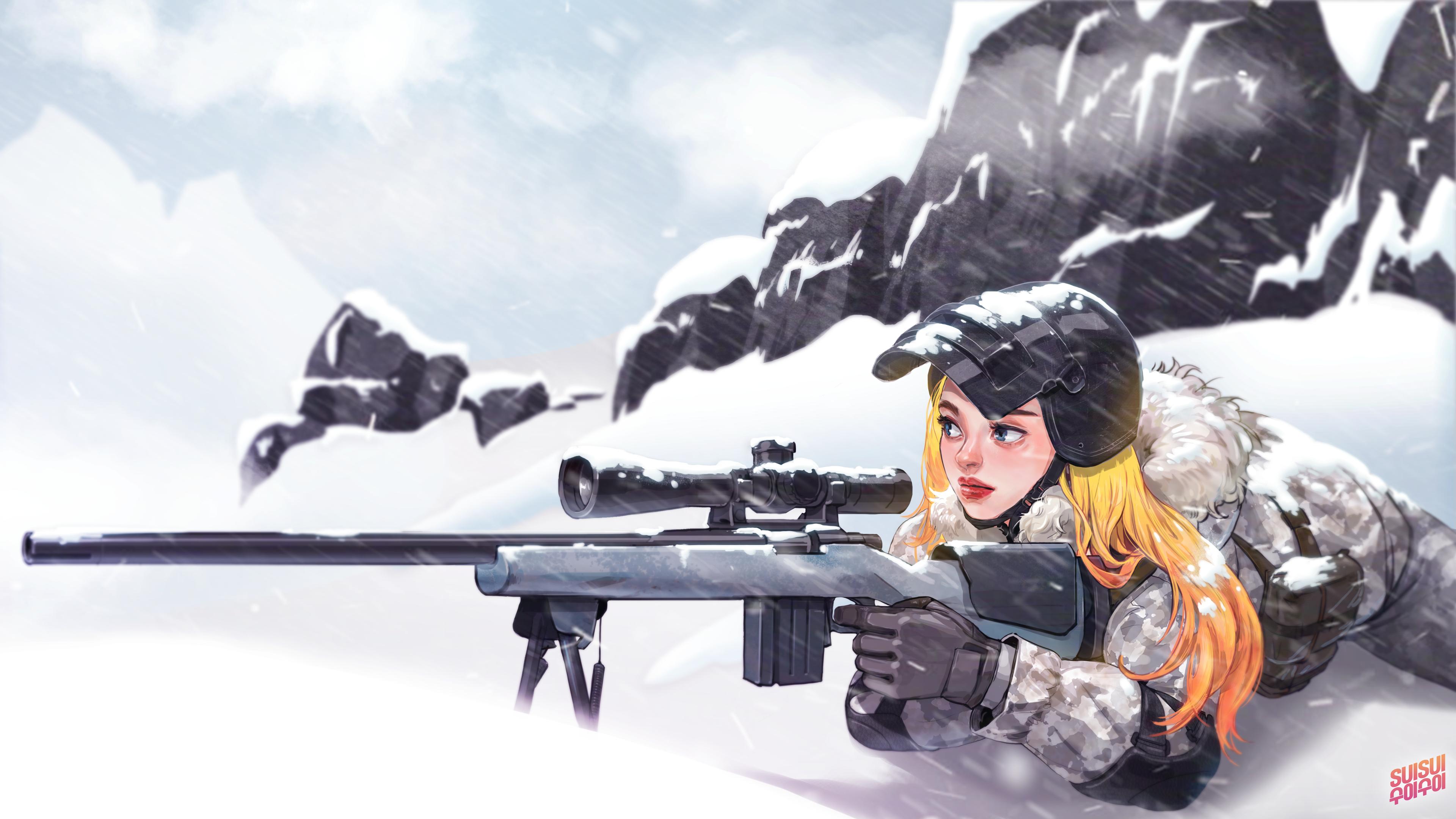 Pubg Snow 4k Wallpaper: PlayerUnknown's Battlegrounds 4k Ultra HD Wallpaper