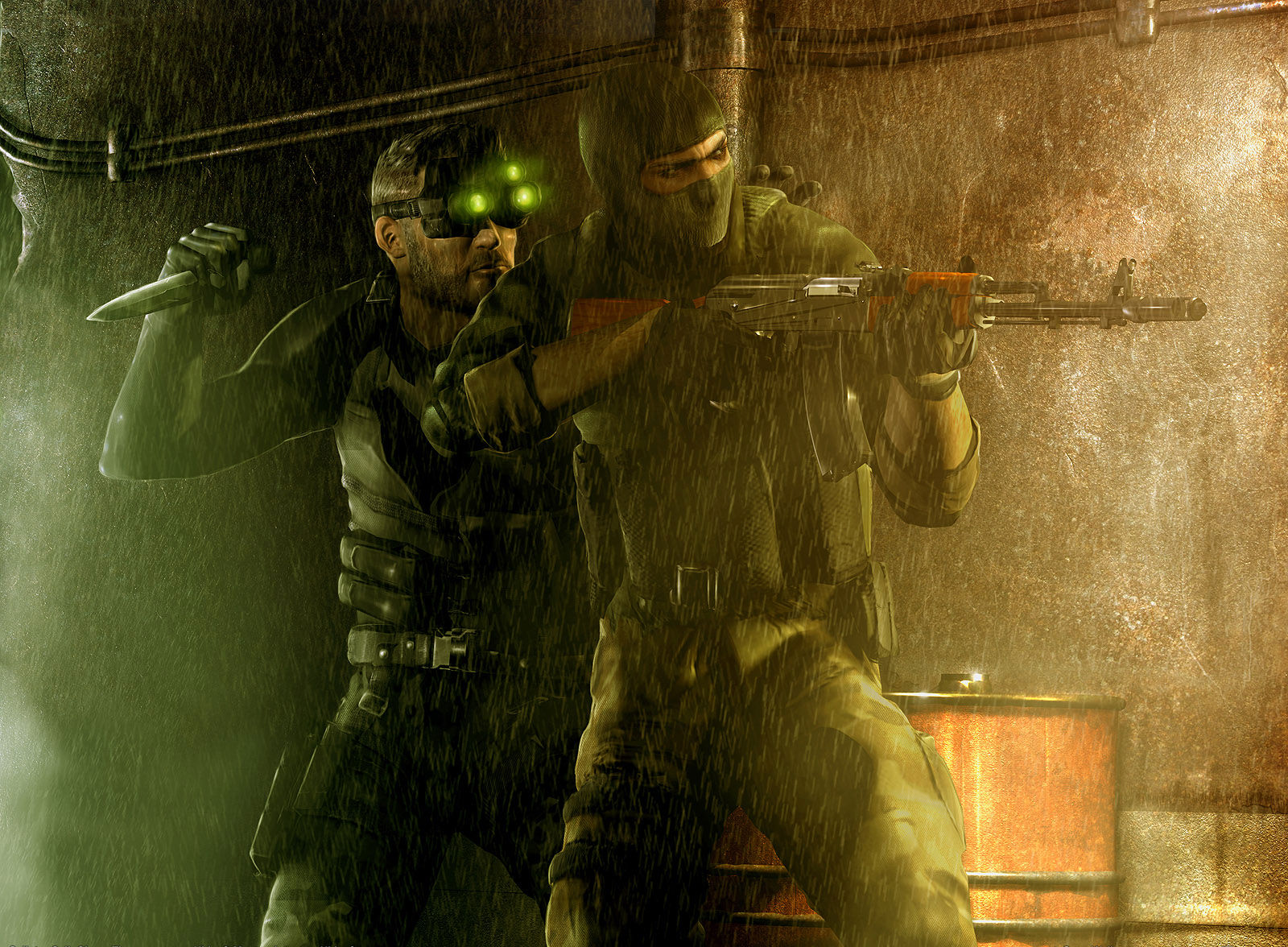 Splinter Cell-Chaos Theory Wallpaper and Background ...