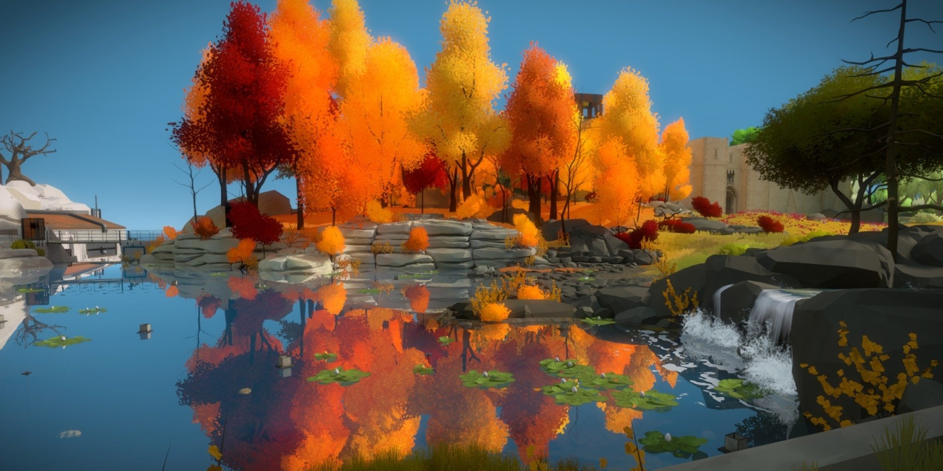 Video Game - The Witness  Reflection Wallpaper