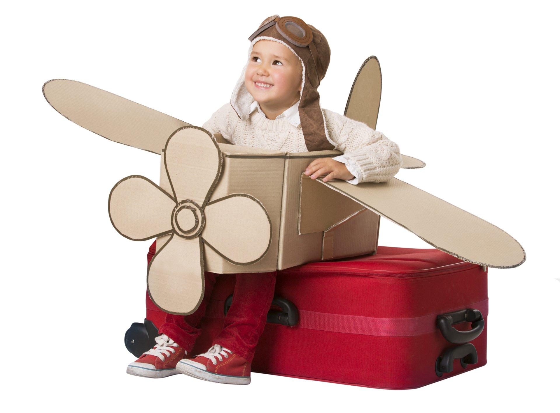 Photography - Child  Boy Aviator Helmet Smile Little Boy Wallpaper