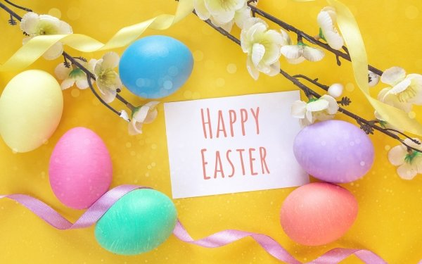 Holiday Easter Egg Spring Happy Easter HD Wallpaper   Background Image