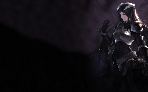 Anime Overlord Albedo Chica Fondo de pantalla HD | Fondo de Escritorio