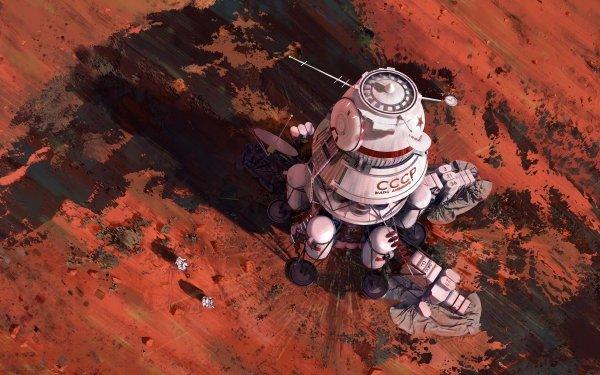 Sci Fi Astronaut Space Shuttle HD Wallpaper | Background Image