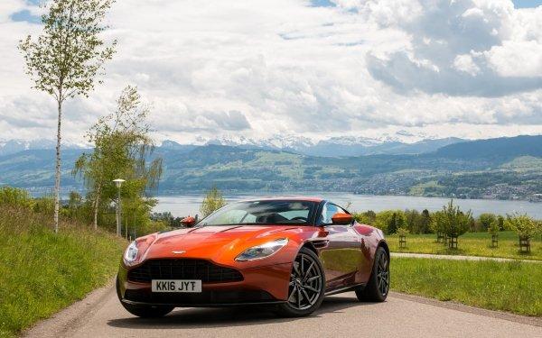 Vehicles Aston Martin DB11 Aston Martin Car Orange Car Sport Car HD Wallpaper   Background Image