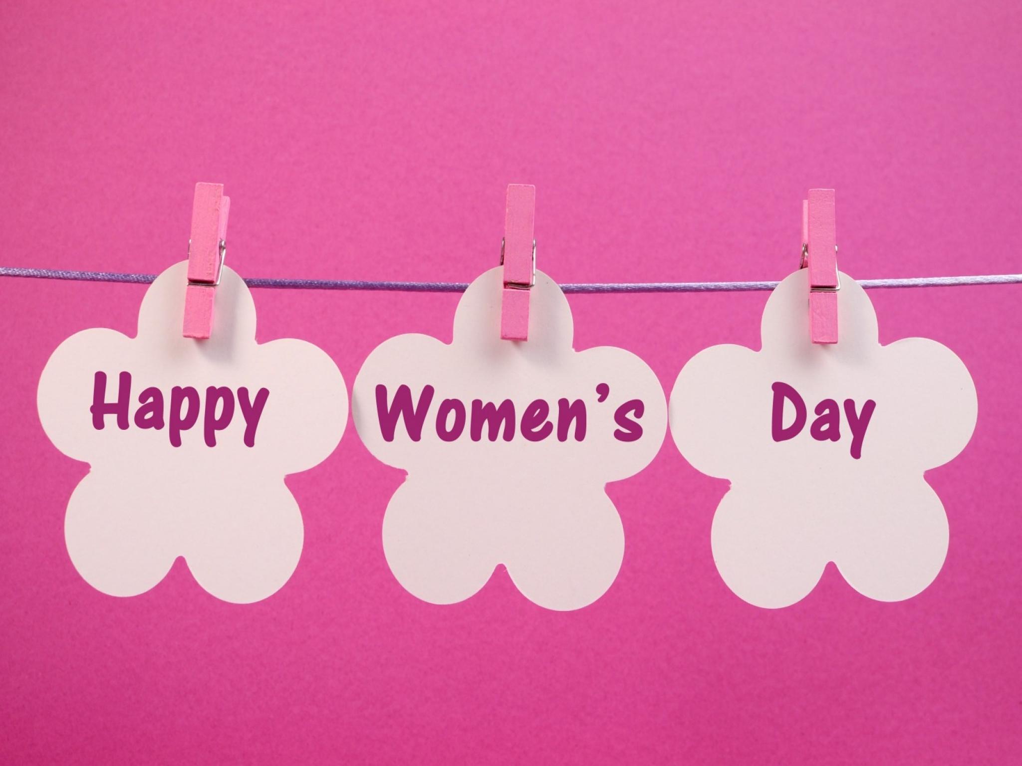Dia Internacional Da Mulher Papel De Parede Hd Plano De Fundo